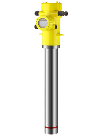SOLITRAC 31 Radiometric sensor for continuous level measurement Rod detector