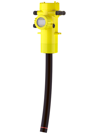 FIBERTRAC 31 Radiometric sensor for continuous level measurement Flexible detector
