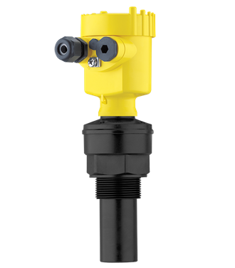 VEGASON 61 Ultrasonic sensor for continuous level measurement Measures liquids up to 5 m and bulk solids up to 2 m away