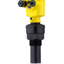VEGASON S61 Ultrasonic sensor for continuous level measurement for measuring ranges up to 5 m Measures liquids up to 5 m and bulk solids up to 2 m away